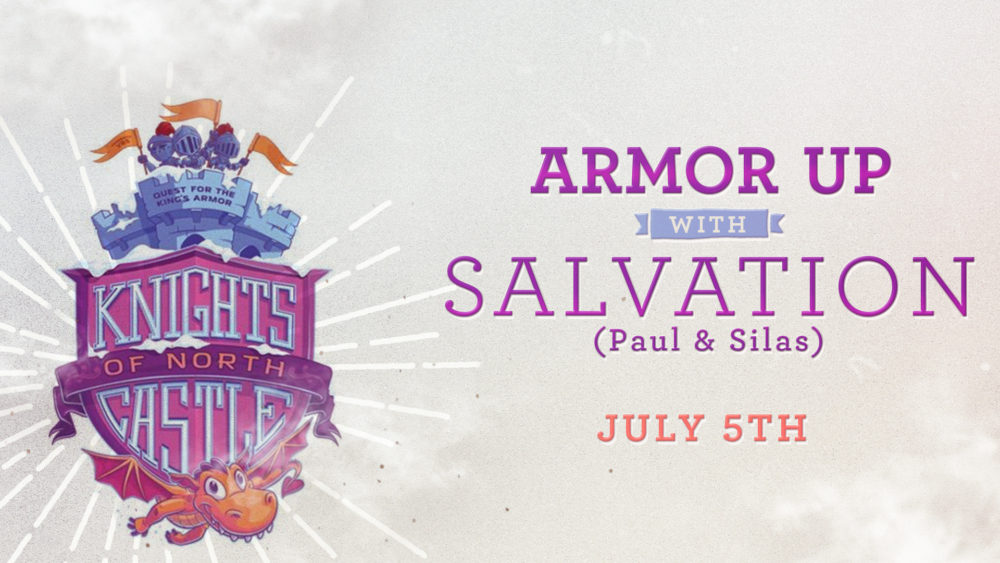 Armor Up with Salvation Image